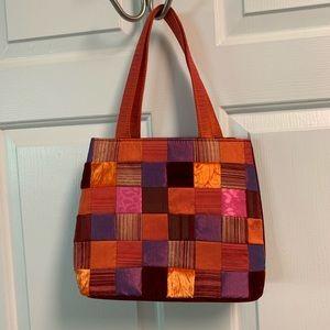 Velvet and silk purse